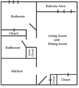 Greenville House Typical Floor Plan